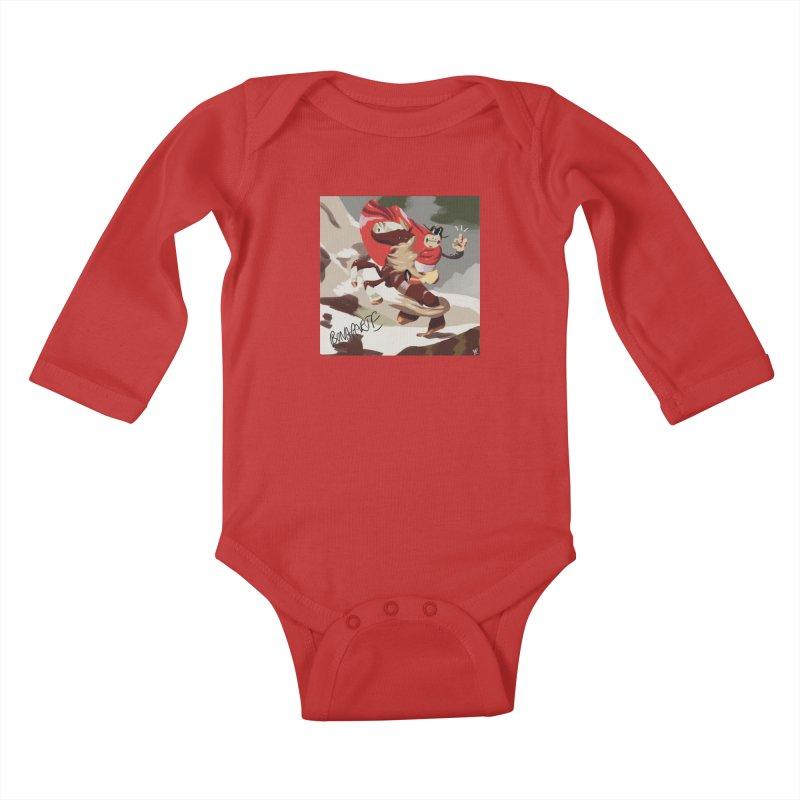 napoleo Kids Baby Longsleeve Bodysuit by CoolStore