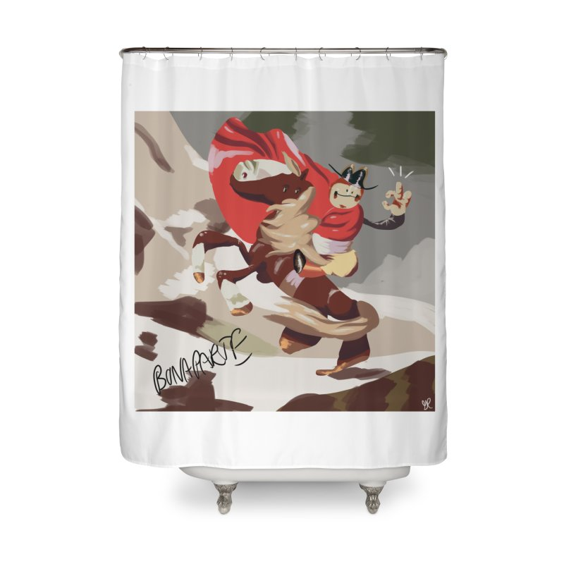 napoleo Home Shower Curtain by CoolStore