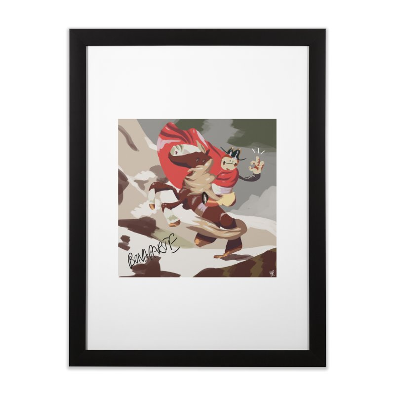 napoleo Home Framed Fine Art Print by CoolStore