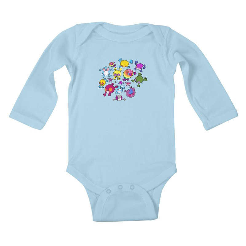 chemicals in the water Kids Baby Longsleeve Bodysuit by CoolStore