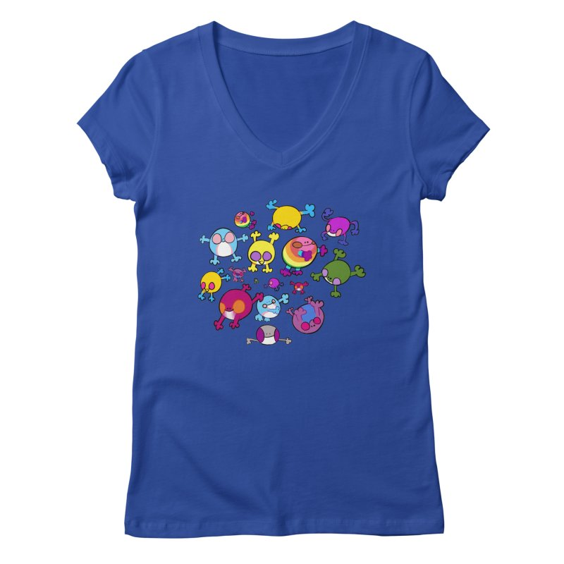 chemicals in the water Women's V-Neck by CoolStore