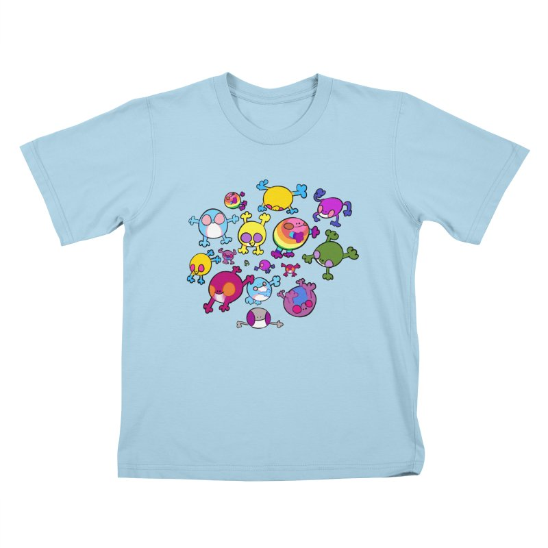 chemicals in the water Kids T-Shirt by CoolStore