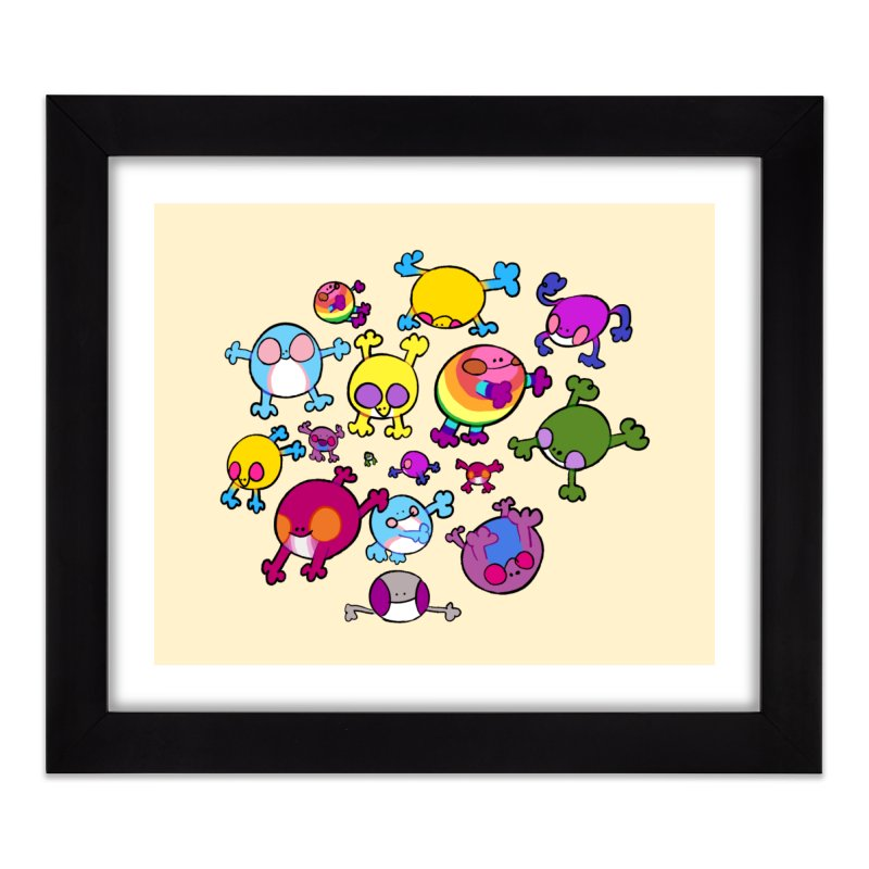 chemicals in the water Home Framed Fine Art Print by CoolStore