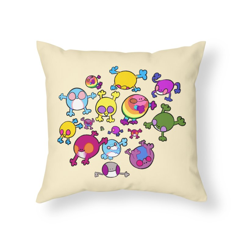 chemicals in the water Home Throw Pillow by CoolStore