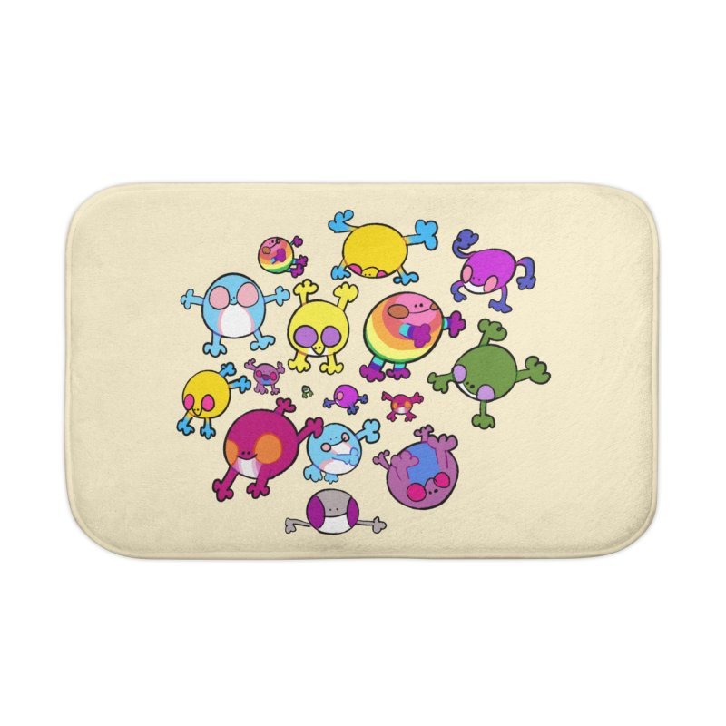 chemicals in the water Home Bath Mat by CoolStore