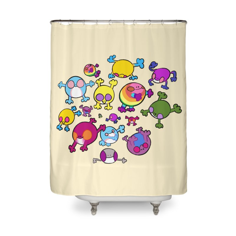 chemicals in the water Home Shower Curtain by CoolStore