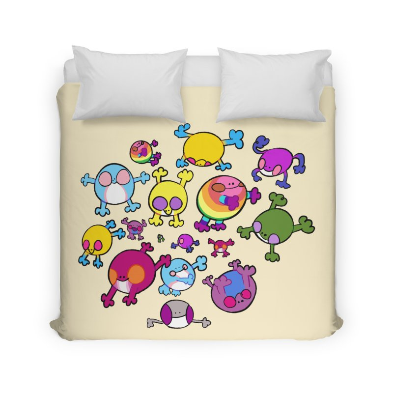 chemicals in the water Home Duvet by CoolStore