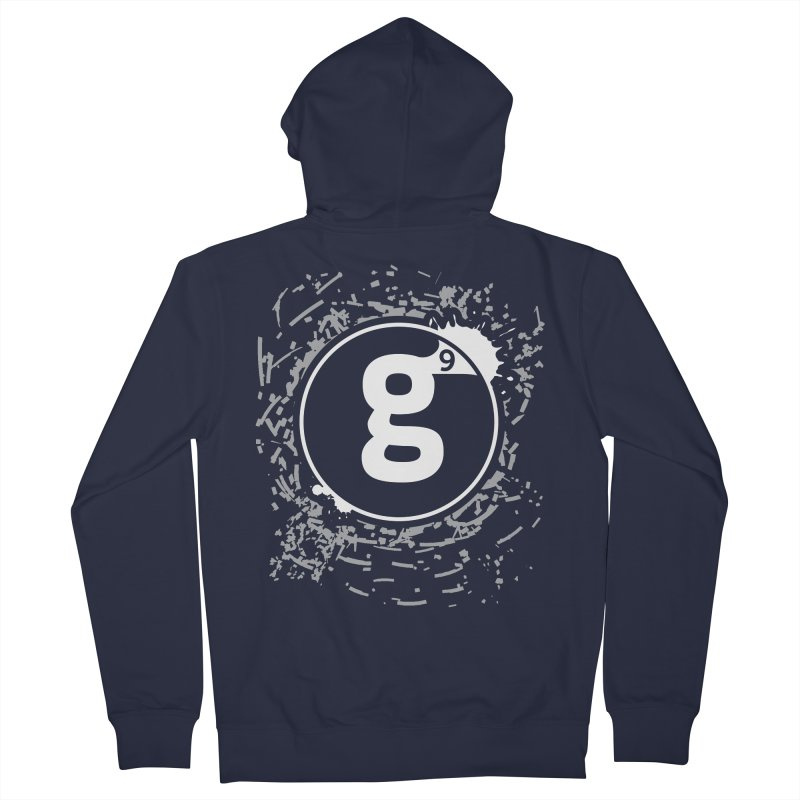 Gradient9 Shatter Women's French Terry Zip-Up Hoody by Gradient9 Studios Threadless Store
