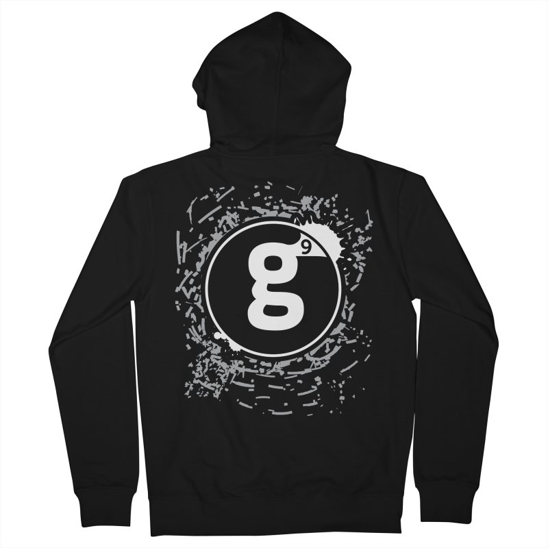Gradient9 Shatter Men's French Terry Zip-Up Hoody by Gradient9 Studios Threadless Store