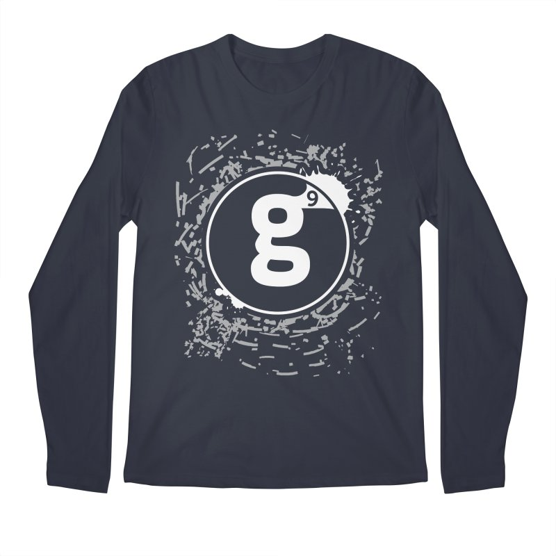 Gradient9 Shatter Men's Regular Longsleeve T-Shirt by Gradient9 Studios Threadless Store