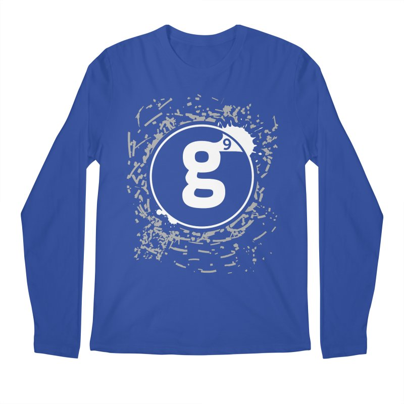 Gradient9 Shatter Men's Regular Longsleeve T-Shirt by Gradient9 Studios Threadless Store