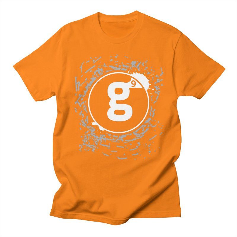 Gradient9 Shatter in Men's Regular T-Shirt Orange by Gradient9 Studios Threadless Store