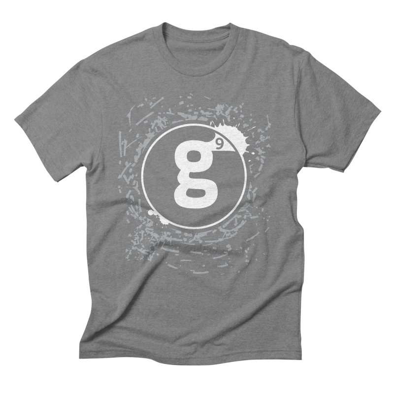 Gradient9 Shatter Men's Triblend T-Shirt by Gradient9 Studios Threadless Store