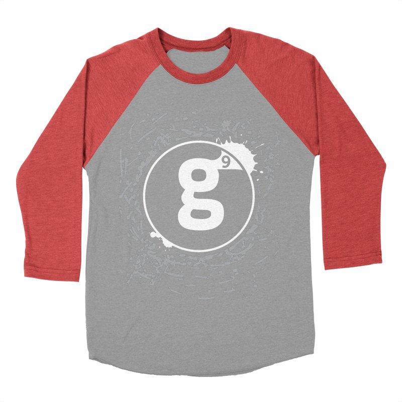 Gradient9 Shatter Women's Baseball Triblend Longsleeve T-Shirt by Gradient9 Studios Threadless Store