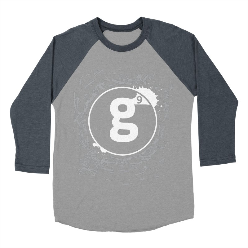 Gradient9 Shatter Women's Baseball Triblend Longsleeve T-Shirt by Gradient9 Studios Threadless Store