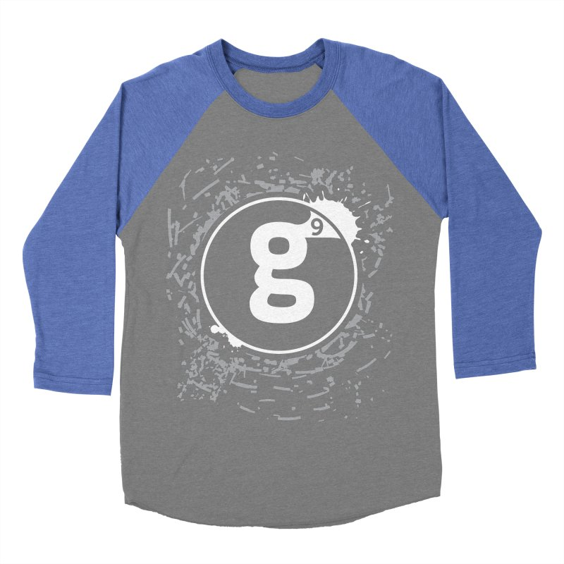 Gradient9 Shatter Men's Baseball Triblend Longsleeve T-Shirt by Gradient9 Studios Threadless Store
