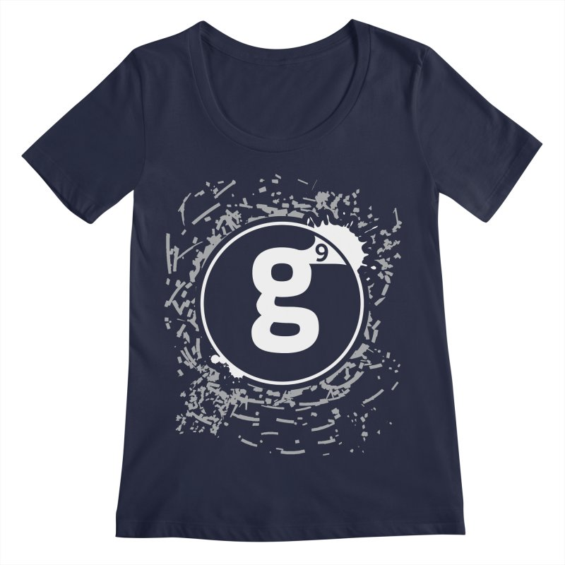 Gradient9 Shatter Women's Regular Scoop Neck by Gradient9 Studios Threadless Store