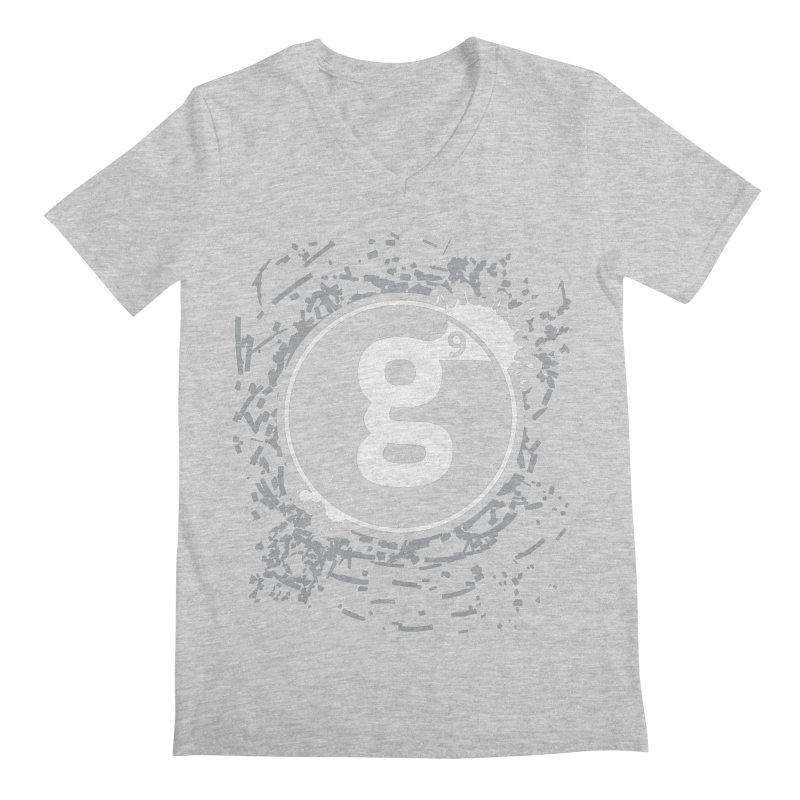 Gradient9 Shatter Men's Regular V-Neck by Gradient9 Studios Threadless Store
