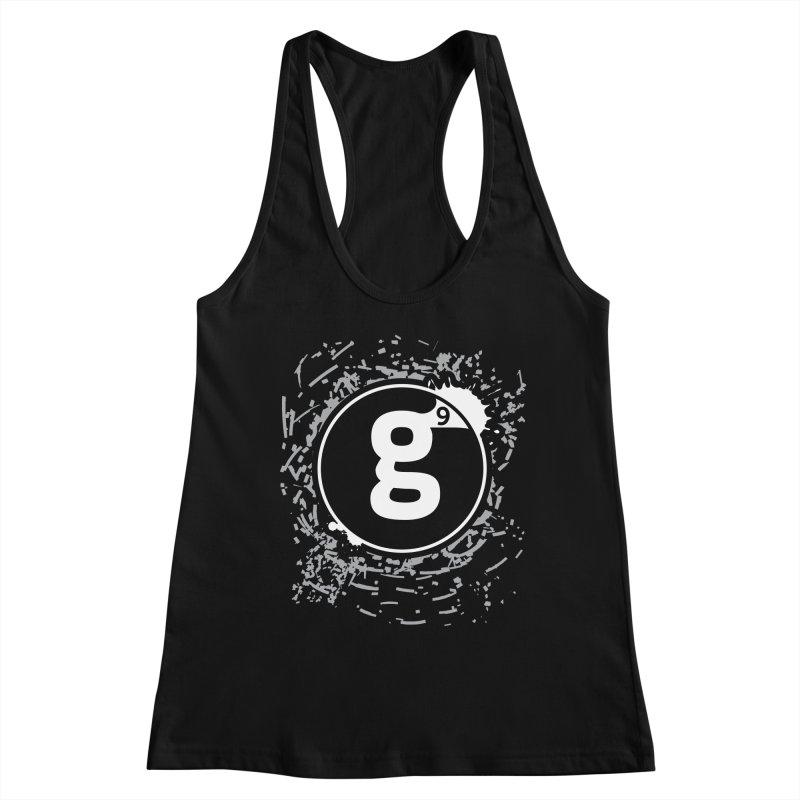 Gradient9 Shatter Women's Racerback Tank by Gradient9 Studios Threadless Store
