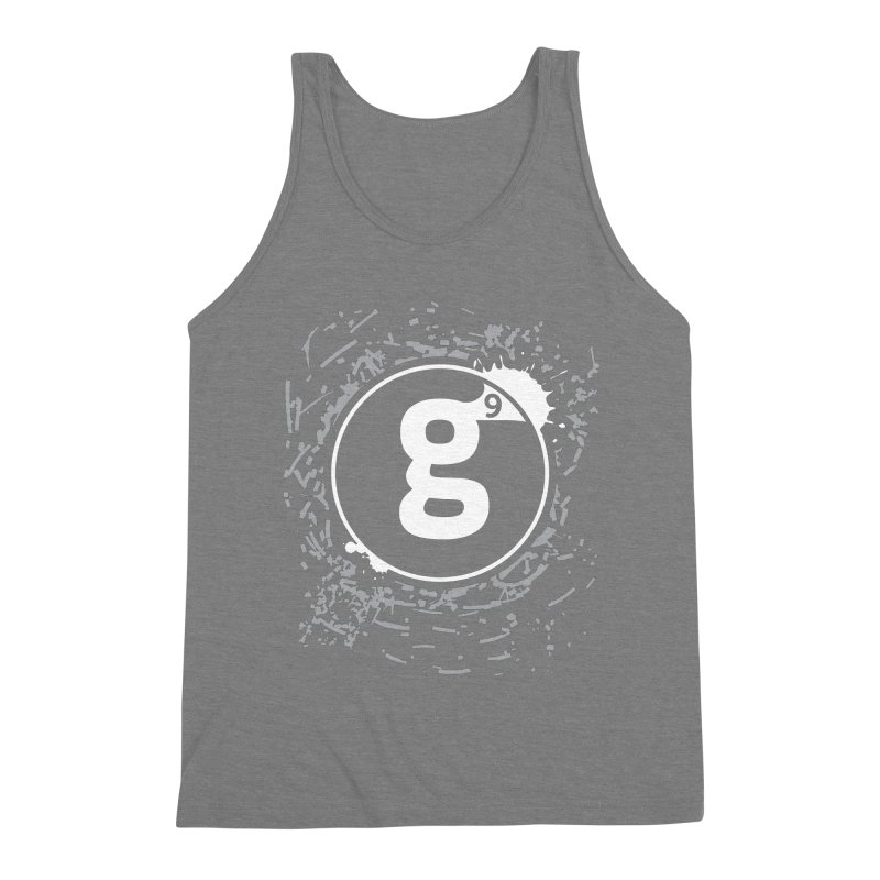 Gradient9 Shatter Men's Triblend Tank by Gradient9 Studios Threadless Store