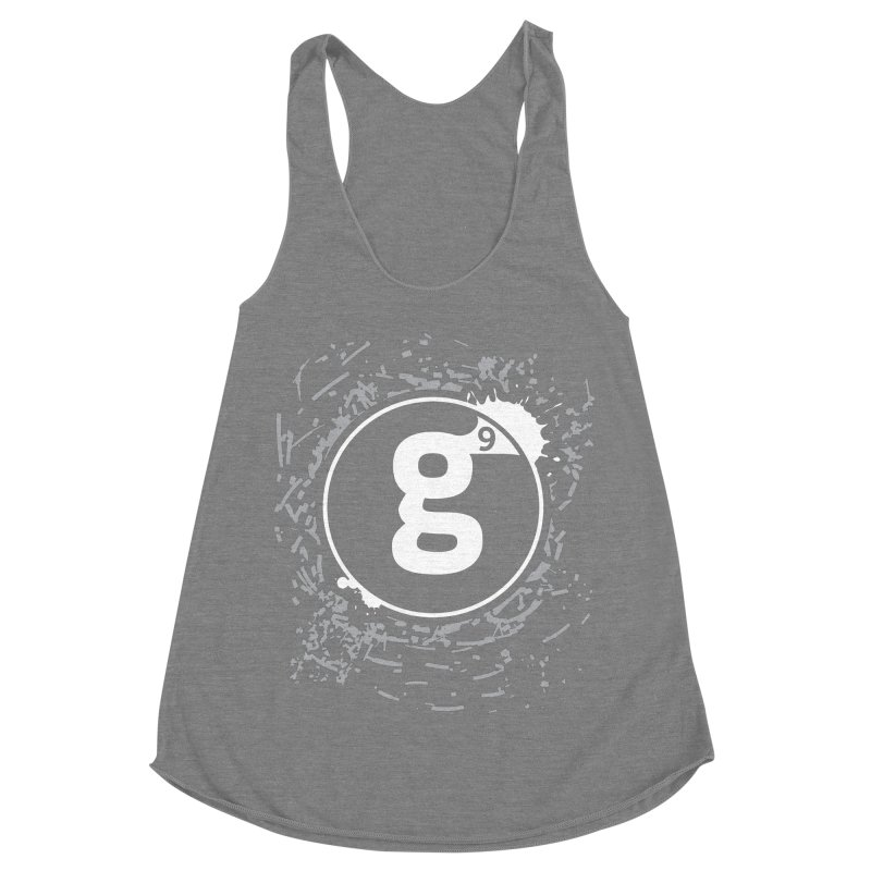Gradient9 Shatter Women's Racerback Triblend Tank by Gradient9 Studios Threadless Store
