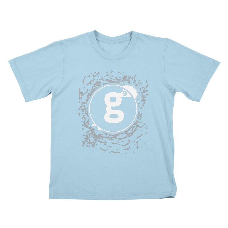 Gradient9 Shatter Kids T-Shirt by Gradient9 Studios Threadless Store