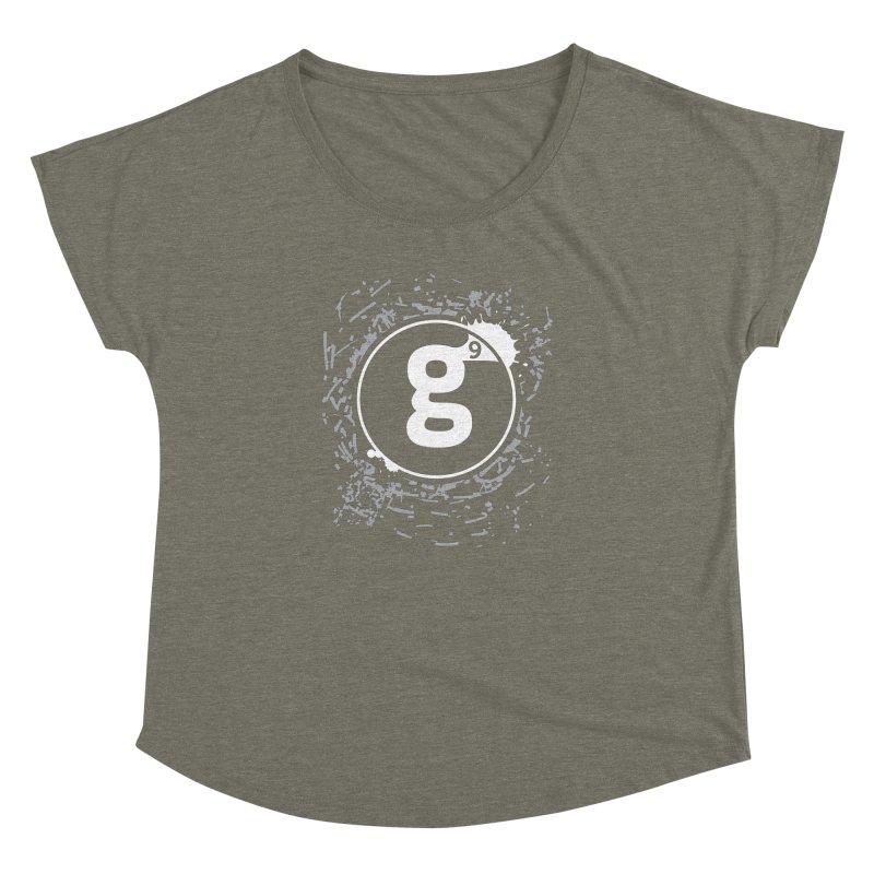 Gradient9 Shatter Women's Dolman Scoop Neck by Gradient9 Studios Threadless Store