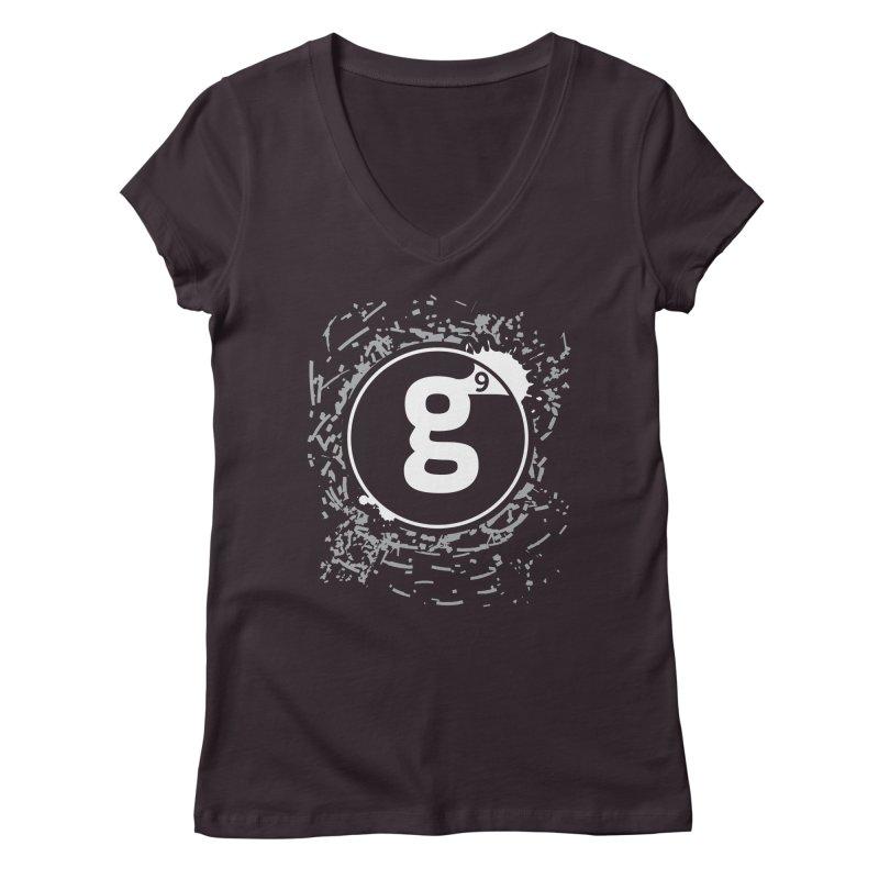 Gradient9 Shatter Women's Regular V-Neck by Gradient9 Studios Threadless Store