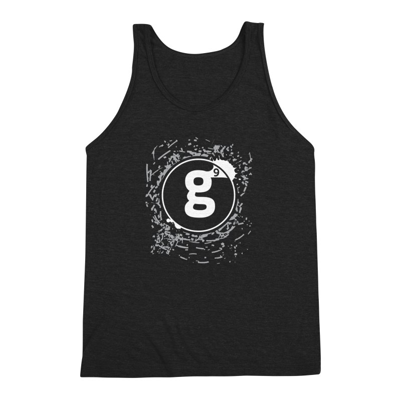 Gradient9 Shatter Men's Triblend Tank by Gradient9 Studios Threadless Store