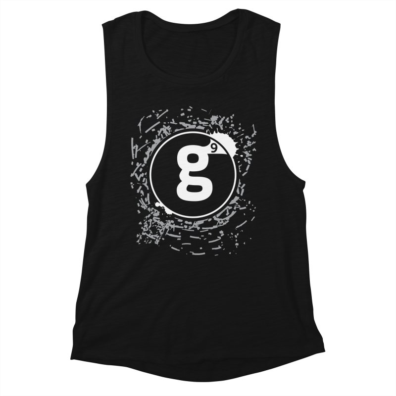 Gradient9 Shatter Women's Muscle Tank by Gradient9 Studios Threadless Store