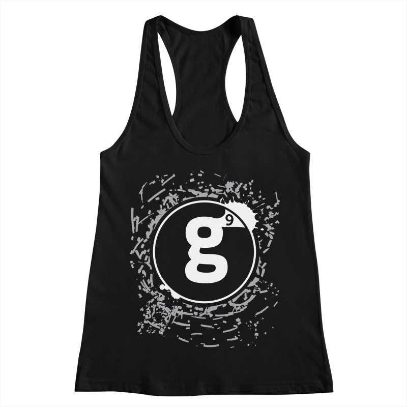 Gradient9 Shatter Women's Racerback Tank by Gradient9 Studios Threadless Store