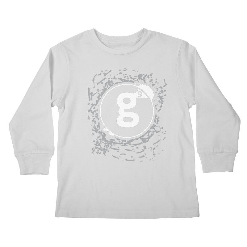 Gradient9 Shatter Kids Longsleeve T-Shirt by Gradient9 Studios Threadless Store