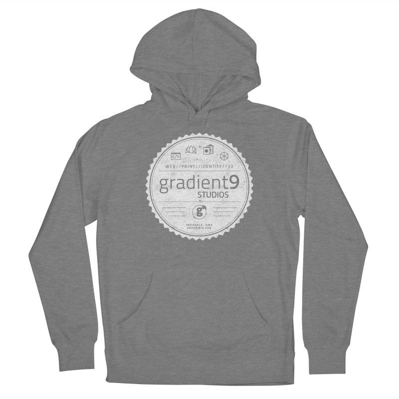 Gradient9 Badge Men's Pullover Hoody by Gradient9 Studios Threadless Store