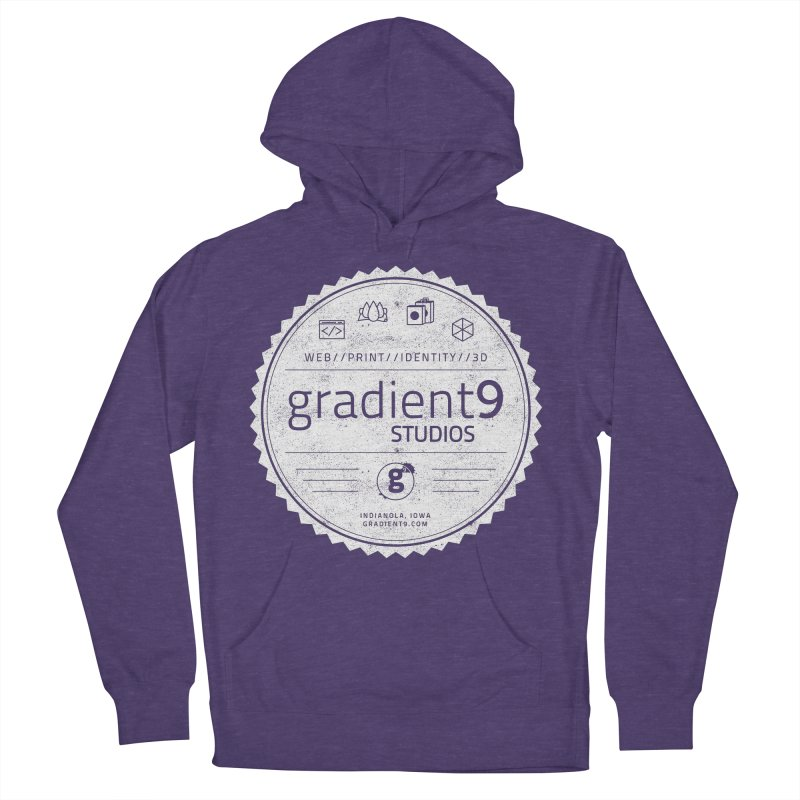 Gradient9 Badge Men's French Terry Pullover Hoody by Gradient9 Studios Threadless Store