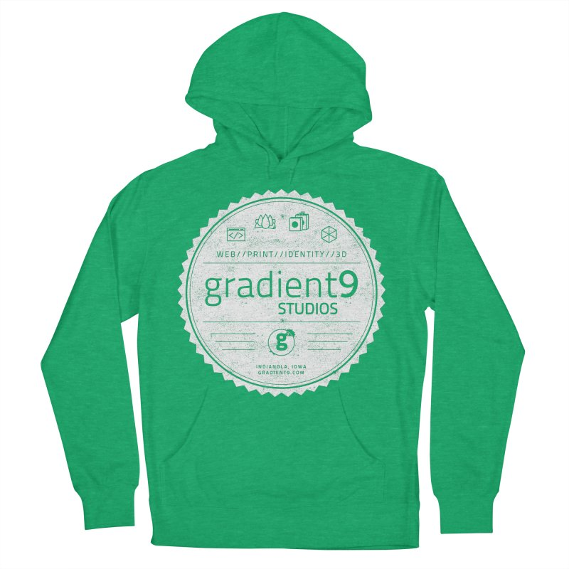 Gradient9 Badge Men's Pullover Hoody by Gradient9 Studios Threadless Store