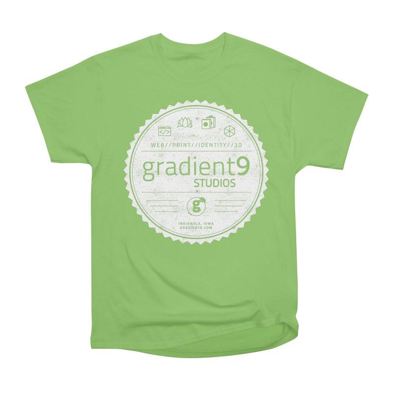 Gradient9 Badge Men's Heavyweight T-Shirt by Gradient9 Studios Threadless Store