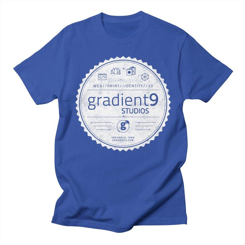 Gradient9 Badge Men's Regular T-Shirt by Gradient9 Studios Threadless Store