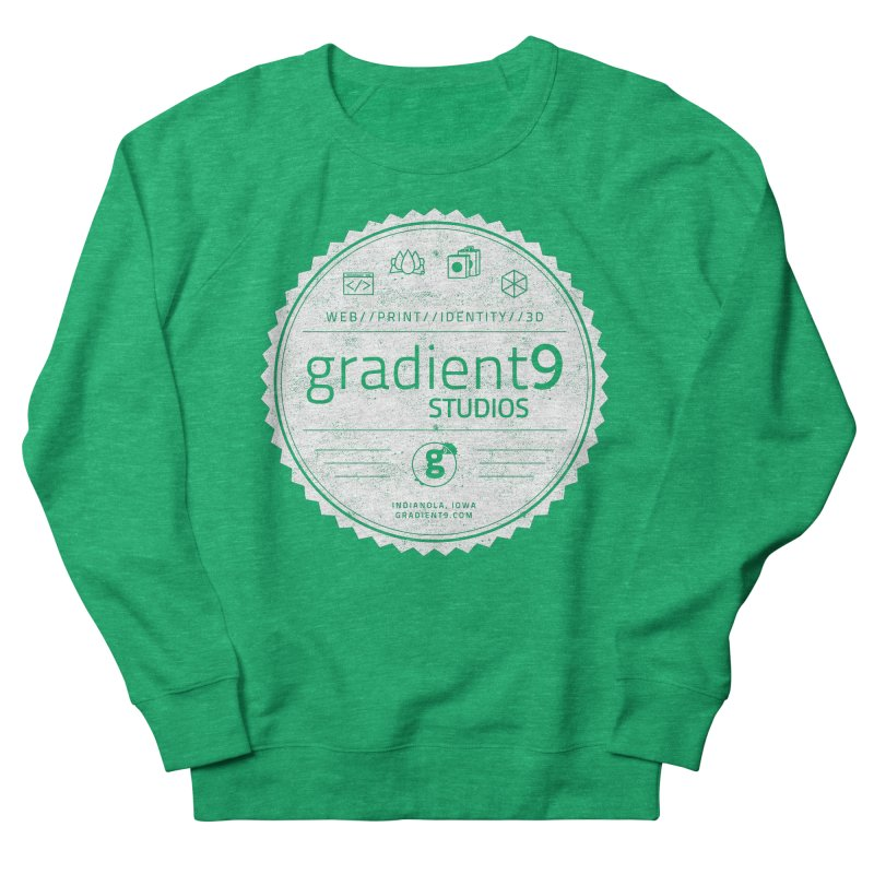 Gradient9 Badge Women's Sweatshirt by Gradient9 Studios Threadless Store