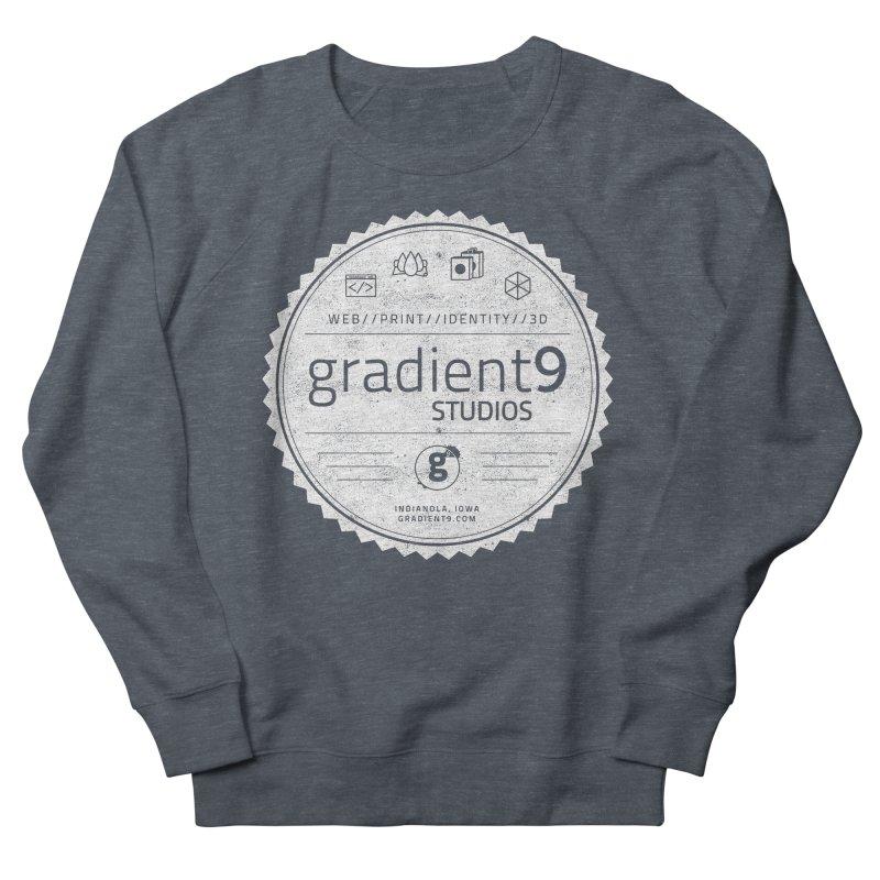 Gradient9 Badge Women's French Terry Sweatshirt by Gradient9 Studios Threadless Store