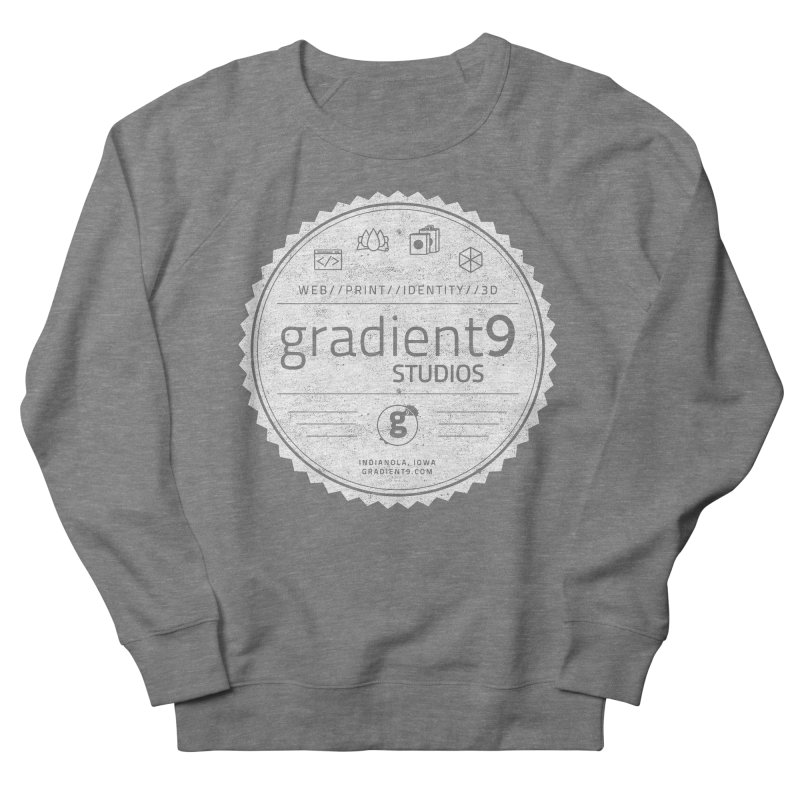 Gradient9 Badge Men's Sweatshirt by Gradient9 Studios Threadless Store
