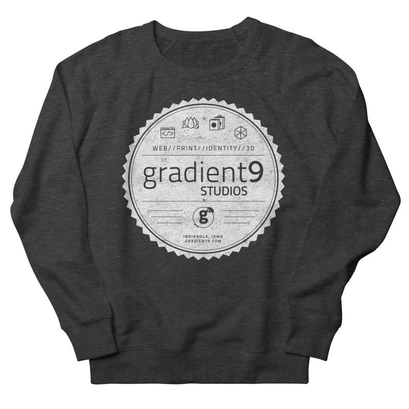 Gradient9 Badge Men's Sweatshirt by Gradient9 Studios Threadless Store