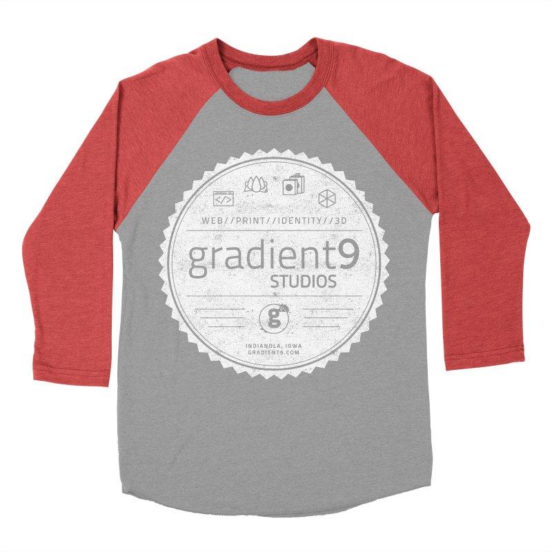 Gradient9 Badge Men's Longsleeve T-Shirt by Gradient9 Studios Threadless Store