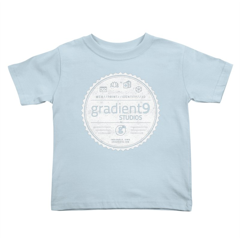 Gradient9 Badge Kids Toddler T-Shirt by Gradient9 Studios Threadless Store