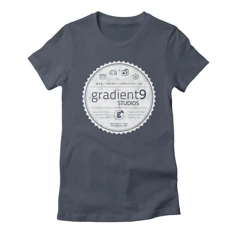 Gradient9 Badge Women's T-Shirt by Gradient9 Studios Threadless Store