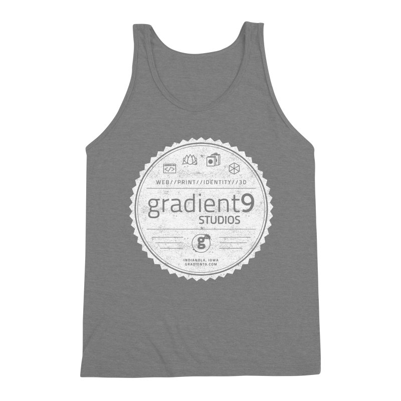Gradient9 Badge Men's Tank by Gradient9 Studios Threadless Store