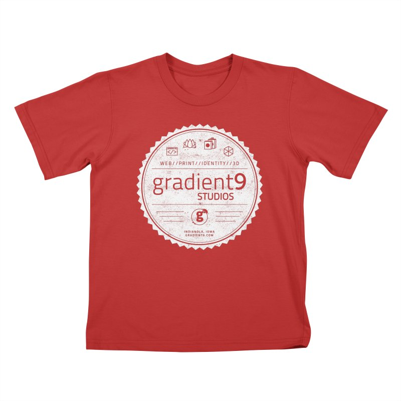 Gradient9 Badge Kids T-Shirt by Gradient9 Studios Threadless Store