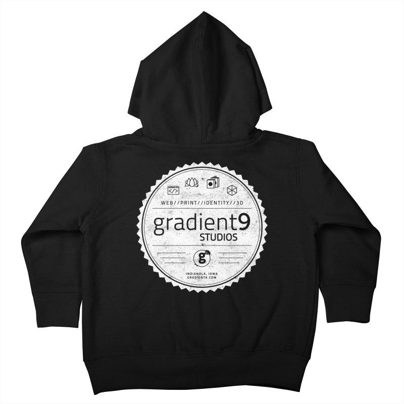 Gradient9 Badge Kids Toddler Zip-Up Hoody by Gradient9 Studios Threadless Store