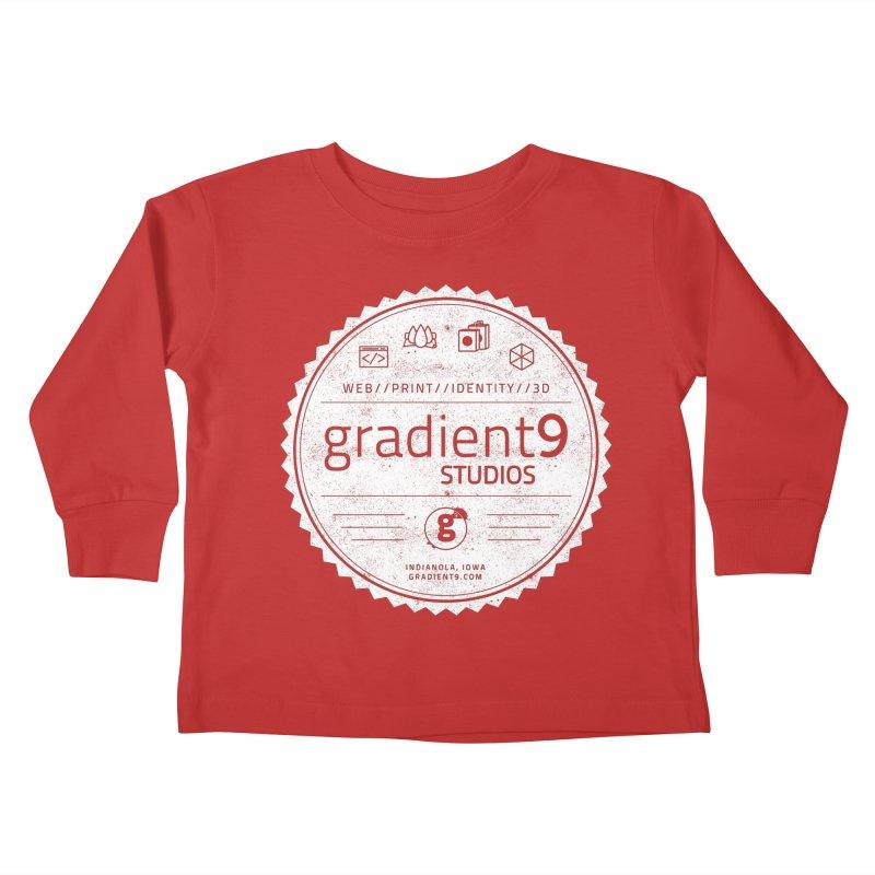 Gradient9 Badge Kids Toddler Longsleeve T-Shirt by Gradient9 Studios Threadless Store