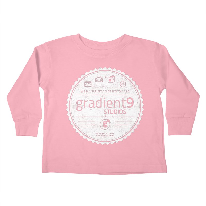 Gradient9 Badge Kids Toddler Longsleeve T-Shirt by Gradient9 Studios Threadless Store