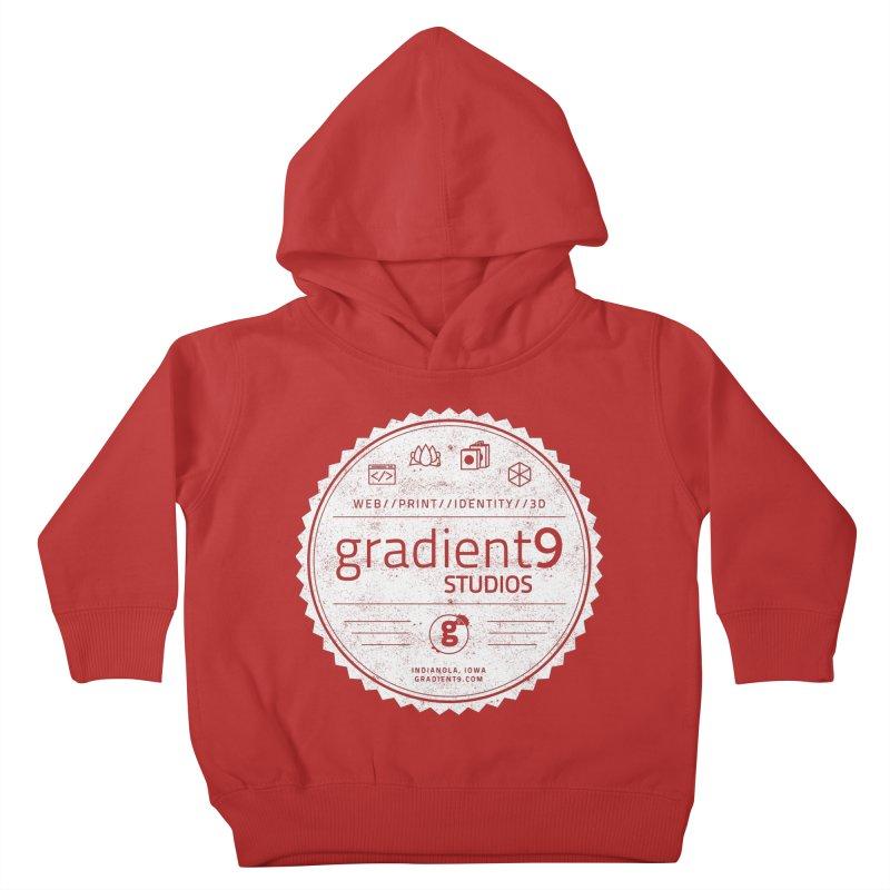 Gradient9 Badge Kids Toddler Pullover Hoody by Gradient9 Studios Threadless Store